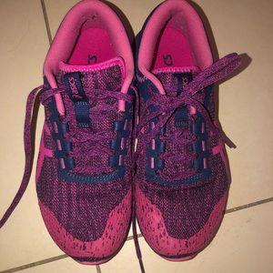 Asics Shoes - NWOT hot pink purple heathered ASICS 6 rare sick
